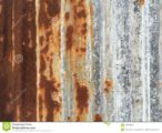 Scratch Due To Zinc That Has Rust?