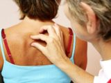 A Lump Like A Lump In The Back Of The Neck, Feels Pain When Held?