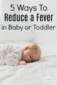 Illustration of How Do You Deal With A Newborn Fever?