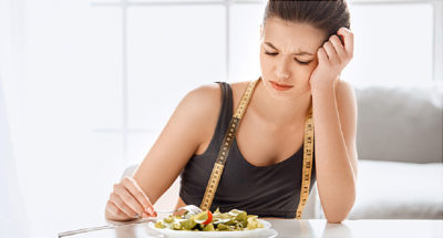 Illustration of Eat Only A Small Portion Before Taking Medication?