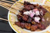 The Condition Of The Content After Consumption Of Goat Satay?