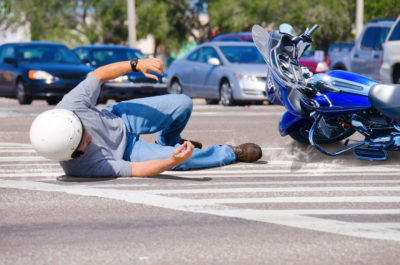 Illustration of Treatment Of Injuries From Falling Motorcycles?