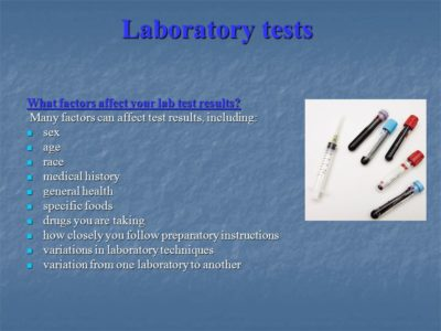 Illustration of Drugs That Can Affect Lab Results?