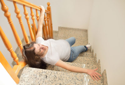 Illustration of Can Falling Down Inhibit Pregnancy?