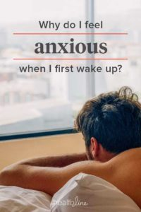 Illustration of The Cause Of Anxiety And Often Wake Up During Sleep?