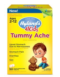 Illustration of Stomach Ache Medicine For Children Aged 4 Years?