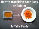 A 10-month Baby Cannot Eat Hard Food?