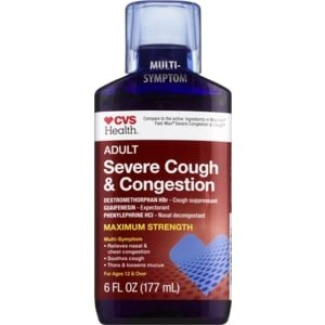 Illustration of Bronchitis Cough Medicine At The Pharmacy?