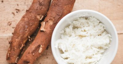 Illustration of Eating Cassava Together With Doctor's Medication.?
