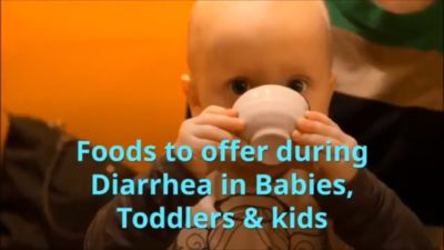 Illustration of Treating Diarrhea In Infants Aged 13 Months?