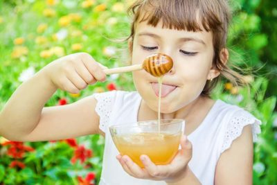 Illustration of The Use Of Honey For Children Aged 20 Months?