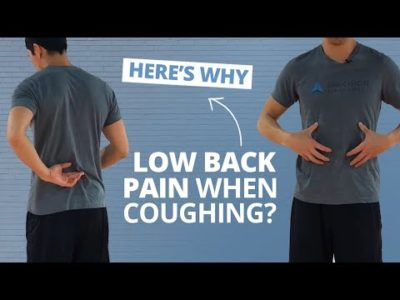 Illustration of Spinal Pain, Cough?