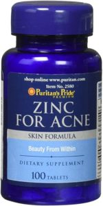Illustration of Zinc 20mg Capsules Can Be Used To Cure Acne?