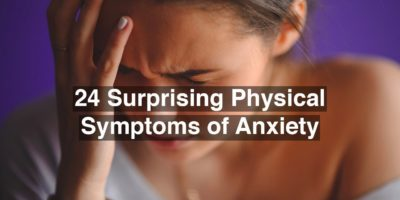 Illustration of Anxious And Hear Your Own Thoughts Accompanied By Chest And Back Pain.?