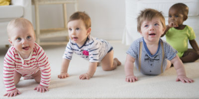 Illustration of 8 Month Old Babies Cannot Crawl Yet.?