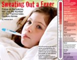 After A Fever Often Cold Sweat And Nausea.?
