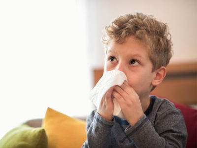 Illustration of Cough In Children Aged 4 Years And Sputum Is Difficult To Get Out?