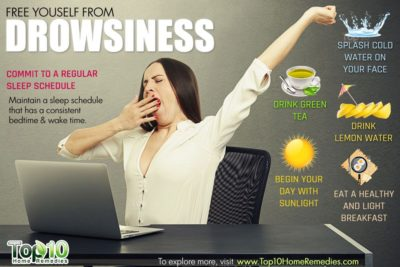 Illustration of How To Overcome Drowsiness.?