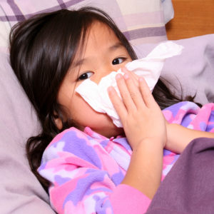 Illustration of Children Aged 2 Years Often Suffer From Cough Colds?