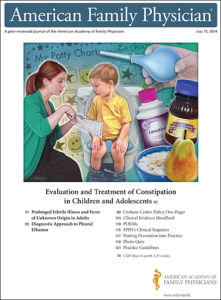 Illustration of Fever And Post Constipation In Children Aged 1 Year.?