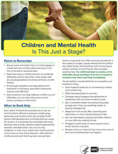 Illustration of Treatment Of Mental Illness From Childhood.?
