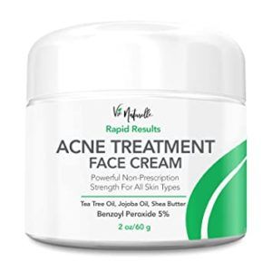 Illustration of Stop The Acne Cream From The Doctor Or Continue?