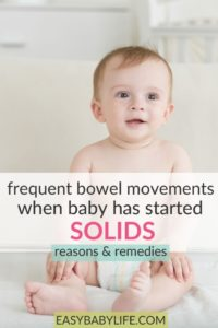 Illustration of Normal Frequency Of Bowel Movements In Children With Solids?