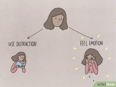 Illustration of Often Cry Quietly And Bury Emotions?