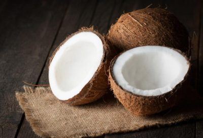 Illustration of Consumption Of Young Coconuts When 8 Months Pregnant?