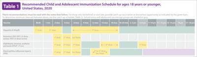 Illustration of The Most Appropriate Place For Immunization?