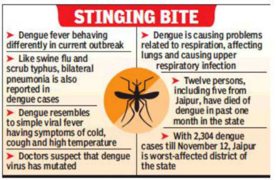 Illustration of Cough In Patients With Dengue Fever?