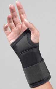 Illustration of Sprained Wrist Due To Falling From A Motorcycle?