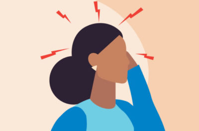 Illustration of Headaches That Disappear Like Shock?