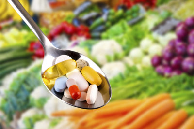 Illustration of Can Consumption Of Vitamins Together With A Doctor's Medication?