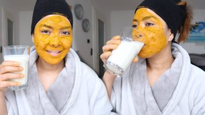 Illustration of The Use Of Milk For Facial Masks For White Facial Skin?
