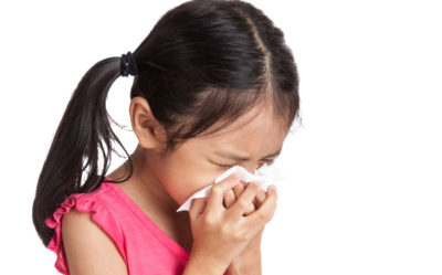 Illustration of The Child's Nose Is Still Phlegm After Recovering From The Flu?