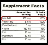 Illustration of Safety Of Folic Acid Consumption Along With Other Vitamins When 22 Weeks Pregnant?