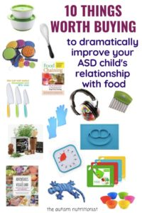 Illustration of Proper Food For Children With Autism?