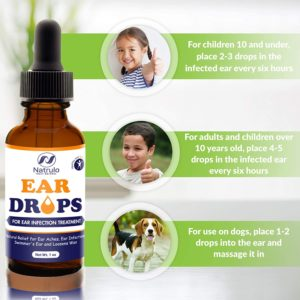 Illustration of Ear Drops For 5-year-olds?