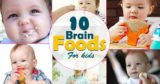 Food Or Vitamins For The Intelligence Of Babies Aged 5 Months?