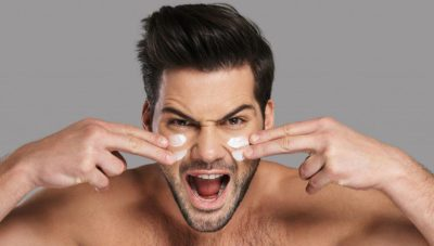 Illustration of Can Men Use Facial Moisturizers For Women?