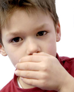 Illustration of The Cause Of Prolonged Cough In Children Accompanied By Vomiting?