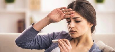 Illustration of Overcoming Fever Accompanied By Headaches For Several Days?