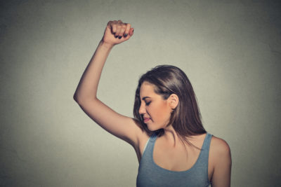 Illustration of The Cause Of Women Sweating On Their Arms When They Wake Up?