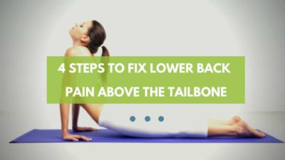 Illustration of What Causes Lower Back Pain In Buttocks Related To Coccyx?