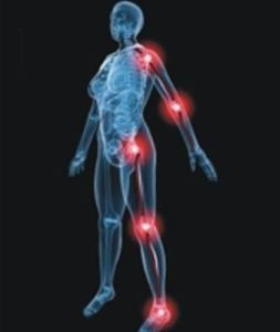 Illustration of Discomfort In The Legs, Shoulders, Arms And Right Hand?