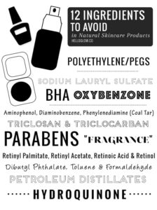 Illustration of Which Ingredients Of Facial Soap Should Be Avoided?