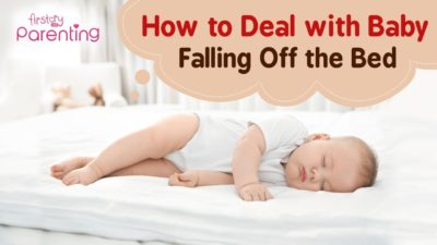 Illustration of The Danger And Solution To Overcome A 9-month Baby Falls From The Mattress In The Supine Position?
