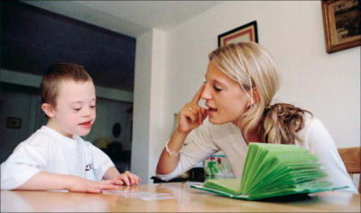Illustration of Overcoming Children With Down Syndrome Is Not Yet Fluent?