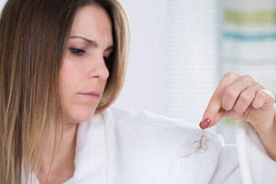 Illustration of Causes Excessive Hair Loss During Menstruation?